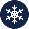 Schneeflocke-blau